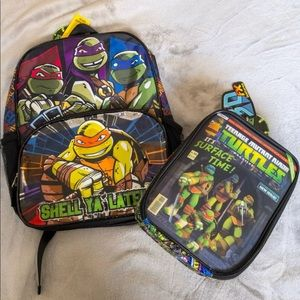 Other - NWT TMNT backpack & lunch bag set